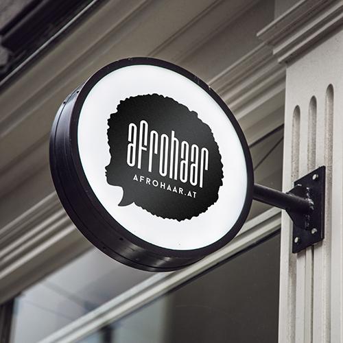 Afrohaar Logo