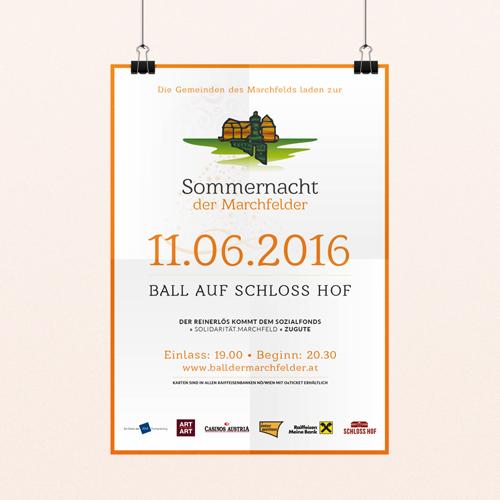 Sommernacht Poster